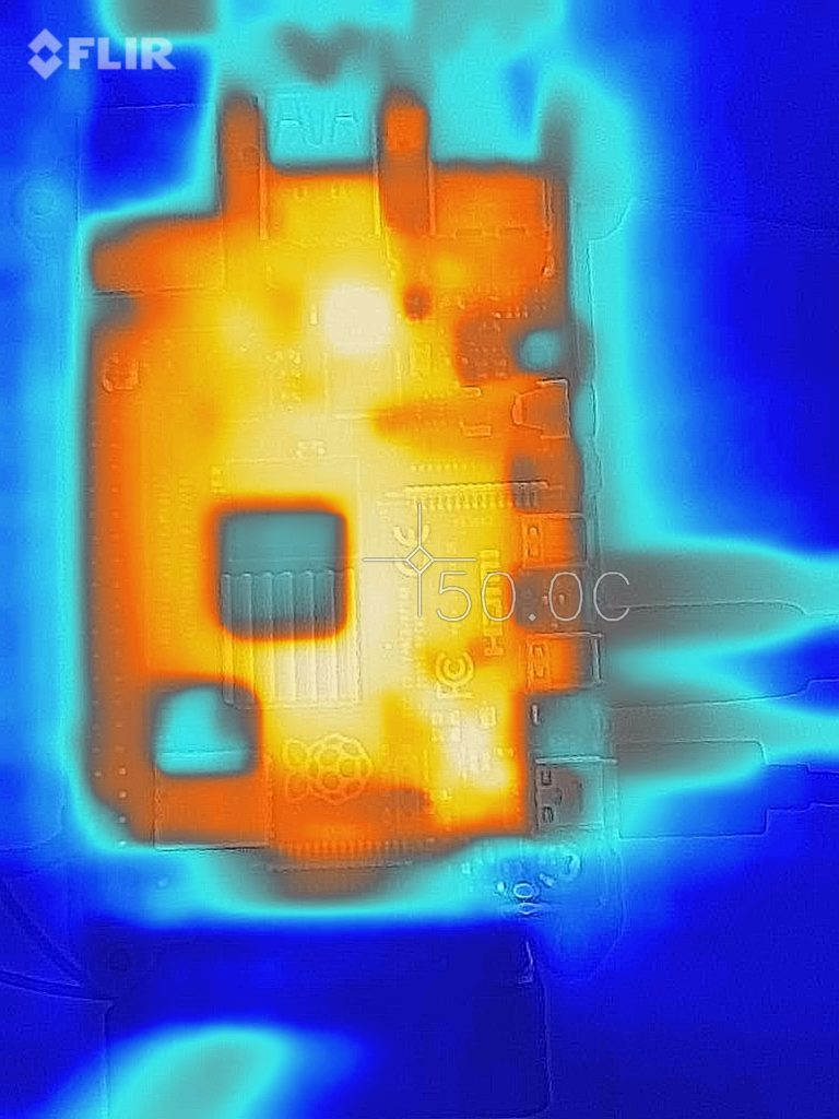 RPI4 Thermal image