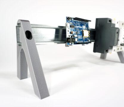 Small Din Rail Desktop Stand