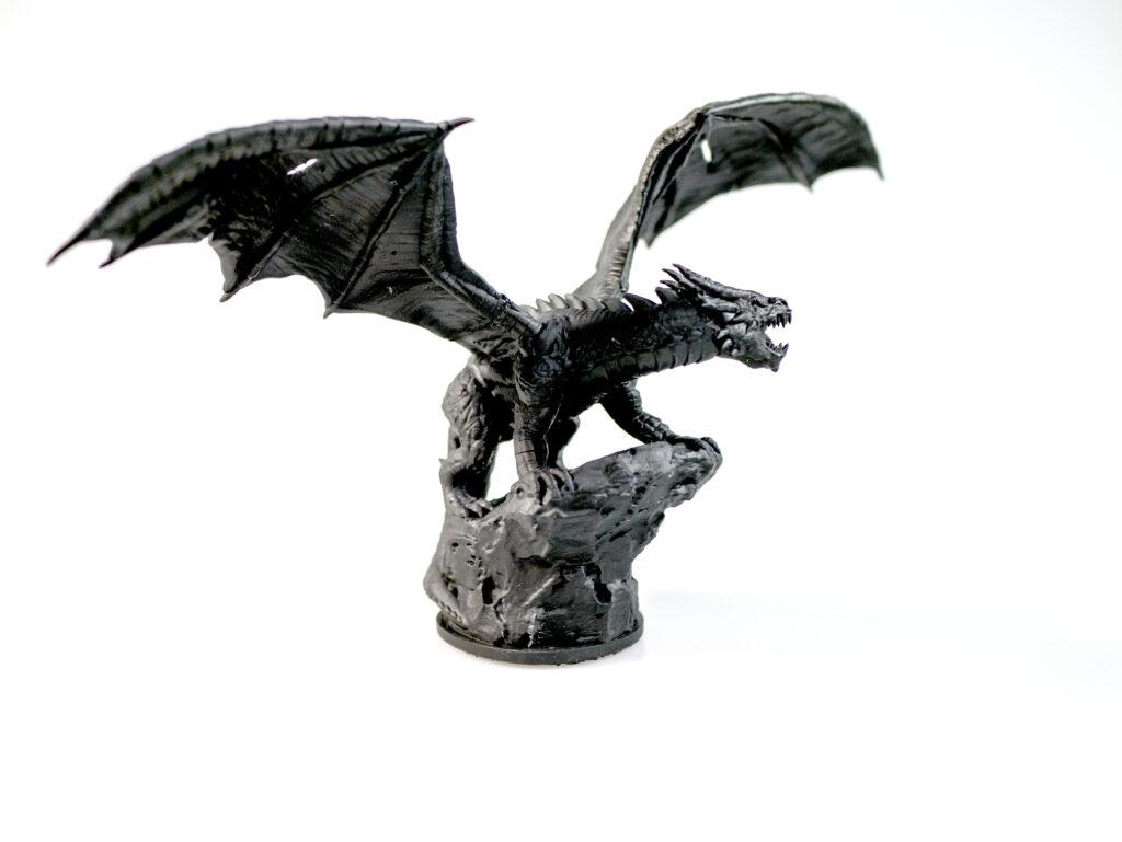 Shadow Dragon resin miniature
