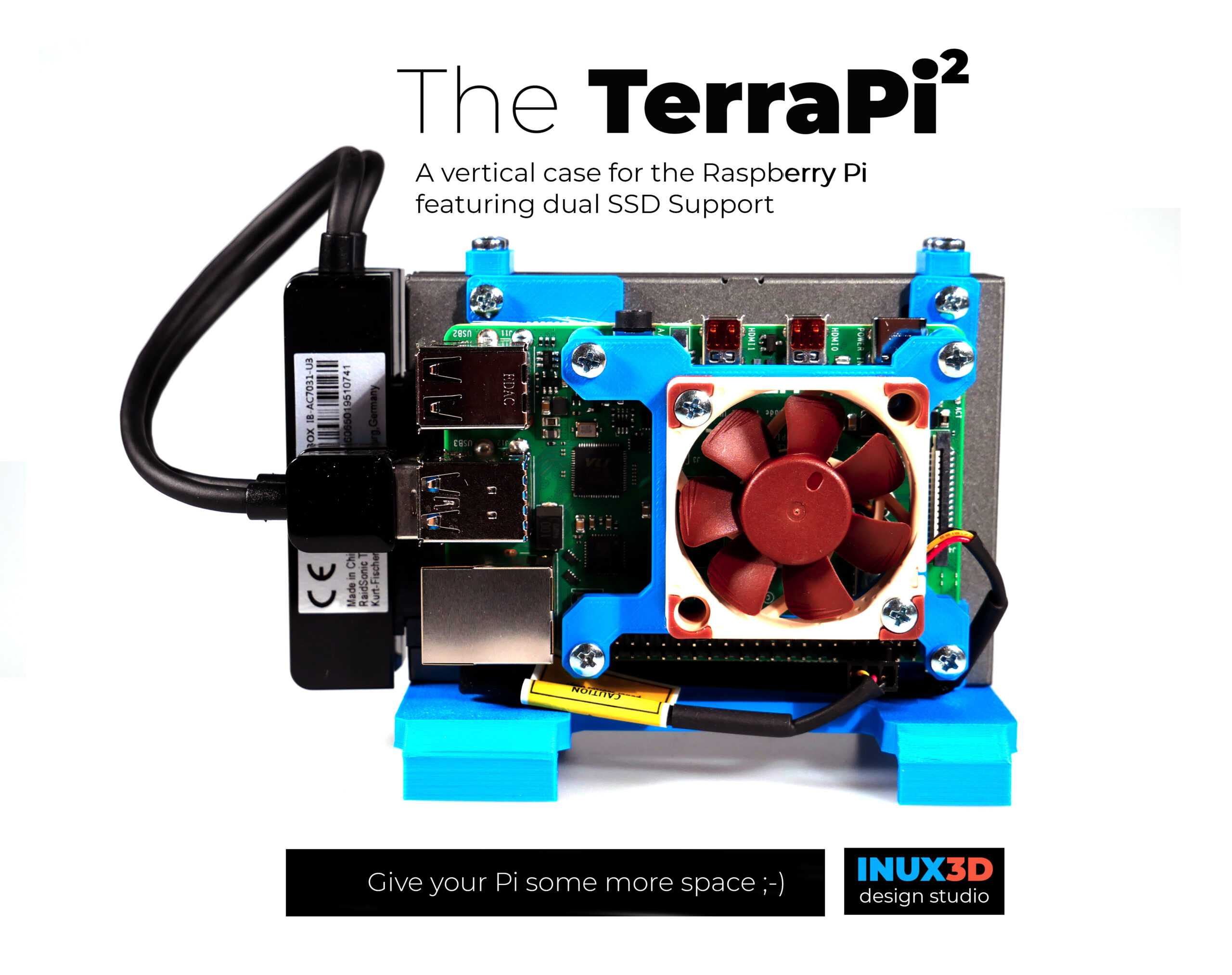 The TerraPi2 Blue